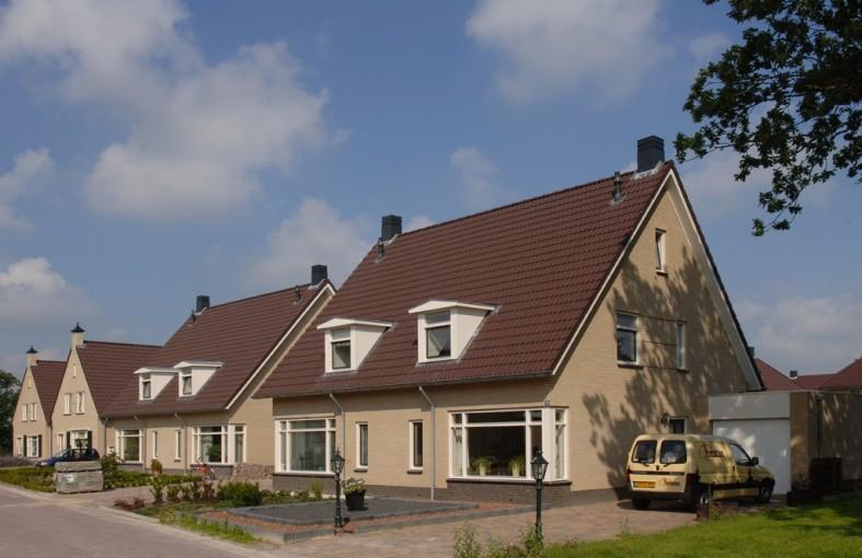 26 woningen 'Tusken Wald & Wetter'